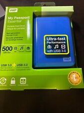 WD My Passport External Hard Drive - 500GB