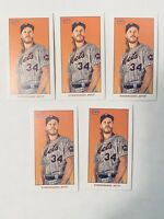 2020 Topps 206 T206 Series 1 SWEET CAPORAL PIEDMONT NOAH SYNDERGAARD Lot (5)