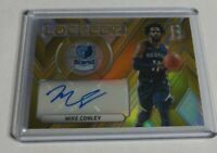 MIKE CONLEY - 2017/18 PANINI SPECTRA - LOCKED IN - GOLD AUTOGRAPH - #5/10 -