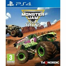 MONSTER JAM STEEL TITANS PS4 PLAYSTATION 4 PAL UK NEW AND SEALED