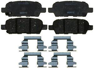 Rr Ceramic Brake Pads  ACDelco Advantage  14D1288CH
