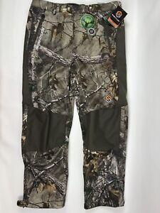 ScentLok Mens Helix Hunting Pants Realtree Xtra Size 2XL Mid Season 89221-056