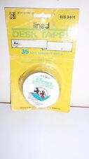 Vintage Judy Instructo Disney'S Mickey & Minnie Mouse Lined Desk Tapes Labels