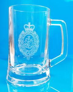 Royal Regiment of Fusiliers glass tankard