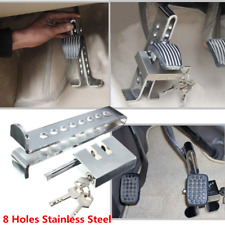 Anti-theft 8 holes Security Lock For Car Trunks Brake Clutch Pedal Accelerator