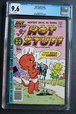 HOT STUFF the Little Devil #163 Human Boy vs Trolls Harvey 1981 STUMBO CGC 9.6