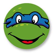 """Pin Button Badge Ø25mm 1"""" Tortues Ninja Teenage Mutant Turtles TMNT Leonardo"""