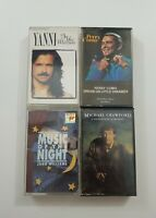 Easy Listening Cassette Lot of 4 Titles SEE DESCRIPTION FOR TITLES