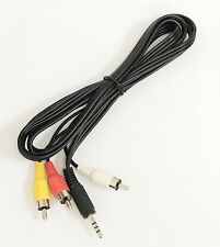3.5mm AV Cable for SYLVANIA Portable DVD Player to Big Screen TV