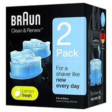 Braun 3305331701 Clean & Rereinigungsbehälter Reinigungskartuschen 2er Pack