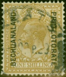 Bechuanaland 1926 1s Bistre-Brown SG98 Good Used