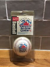 Toronto Blue Jays Vintage Official Rawlings Baseball 1991 All Star Game