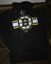 Boston Bruins hoodie sweatshirt YOUTH large NEW with Tags Reebok NHL vintage