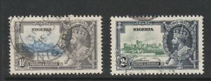 NIGERIA 1935 early GV Silver Jubilee issue Mint hinged