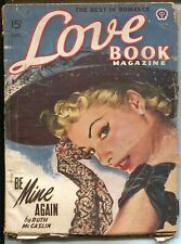 Love Book Magazine10/1949-Ruth McCaslin-spicy pulp stories-pin-up cover-G/VG