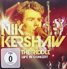 CD DVD Nik Kershaw The Riddle Live In Concert CD & DVD Ensemble