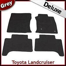 Toyota Land Cruiser Mk3 J120 2002-2009 Tailored LUXURY 1300g Car Mats GREY