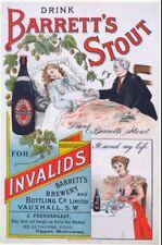 Barretts Stout Vintage Advertising Art Print/Poster