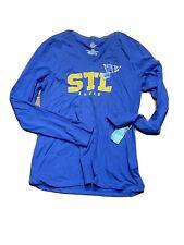 womens NHL St louis blues long sleeve shirt size medium