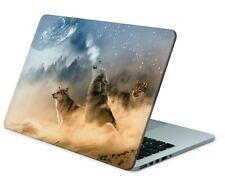 Universal Laptop Skin Notebook Netbook MacBook Aufkleber Sticker Howling Moon