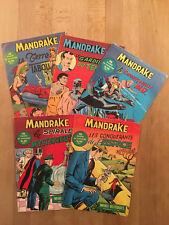 Mandrake numéros 1 à 5 - 1962 - TBE/NEUF