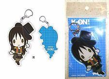 "K-On! Acrylic Key Chain Mio Akiyama 4"" Grand Marche Kakifly Licensed New"