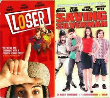 Loser Vhs & Saving Silverman Lot of 2 Tapes Jason Biggs Jack Black Amanda Peet