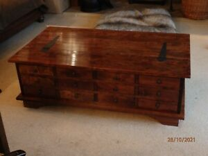 Laura Ashley Garrat coffee table chestnut