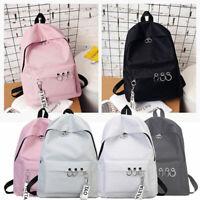 Fashion Women Canvas School Bag Girls Backpack Travel Rucksack Shoulder Bags