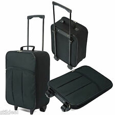 Leichter Kabinen Trolley 2 RO Koffer Handgepäck Ryanair EasyJet u.v.a. Faltbar!