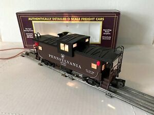 NEW MTH ELECTRIC TRAINS -PENNSYLVANIA EXTENDED VISION CABOOSE- O-SCALE MT-9101L