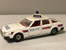 Vintage Corgi Great Britain Rover 3500 Diecast Cast Metal Europe Police Cruiser