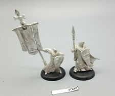 Warmachine Protectorate of Menoth Temple Flameguard Officer and Standard 7099