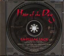 Hair of the Dog - Cadillac Jack. 1997 1-track promo CD single. SEG-5225