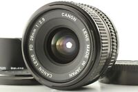 *MINT* Canon New FD NFD 28mm f/2.8 Wide Angle Prime MF Lens From JAPAN #54