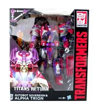 Transformers Hasbro Titan Returns Voyager Alpha Trion and Sovereign