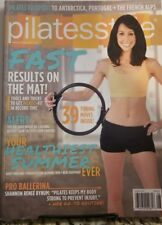Pilates Style August 2014 Fast Result On The Mat FREE SHIPPING MC