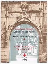 Frankrijk booklet postfris 1970 MHN 1733-1734 - Rode Kruis / Red Cross (K024)