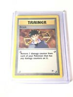 BROCK - Gym Heroes  - 98/132 - Rare - Pokemon Card - EXC/NM