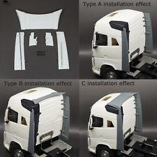 Para 1/14 Camiones Tractor Tamiya Volvo FH16 750 56360 contenedor Cola Spoiler Set
