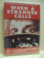 WHEN A STRANGER CALLS – DVD, CHARLES DURNING, CAROL KANE, REGION 0, SEALED NEW