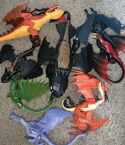 How to Train Your Dragon Lot of Figures DwallC