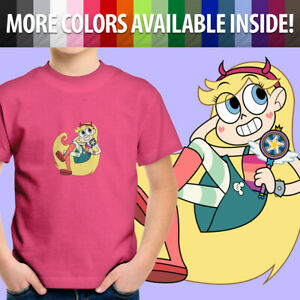 Star vs. the Forces of Evil Princess Star Butterfly Unisex Kids Youth T-Shirt