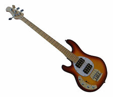 Lefty Stingray Bass Guitar Left Handed Active Humbucker Double Coil New Rino88