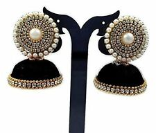 Town Of Trinkets silk thread indian designer multicolour earring