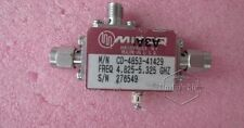 Miteq Cd-4853-41429 4.825-5.325Ghz 20dB Rf bi-directional coupler with detector