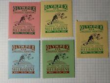 Olympex Vpa Exhibition Melbourne Au 1956 Philatelic Souvenir Ad Label Mnh