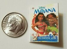 Miniature dollhouse Disney Princess book Barbie 1/12 Scale Moana movie B