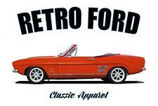 FORD CAPRI CRAYFORD CAPRICE t-shirt. RETRO FORD. CLASSIC CAR. MODIFIED.