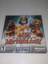 (PC CD-ROM) AGE OF MYTHOLOGY  (ENSEMBLE STUDIOS)  MICROSOFT GAMES